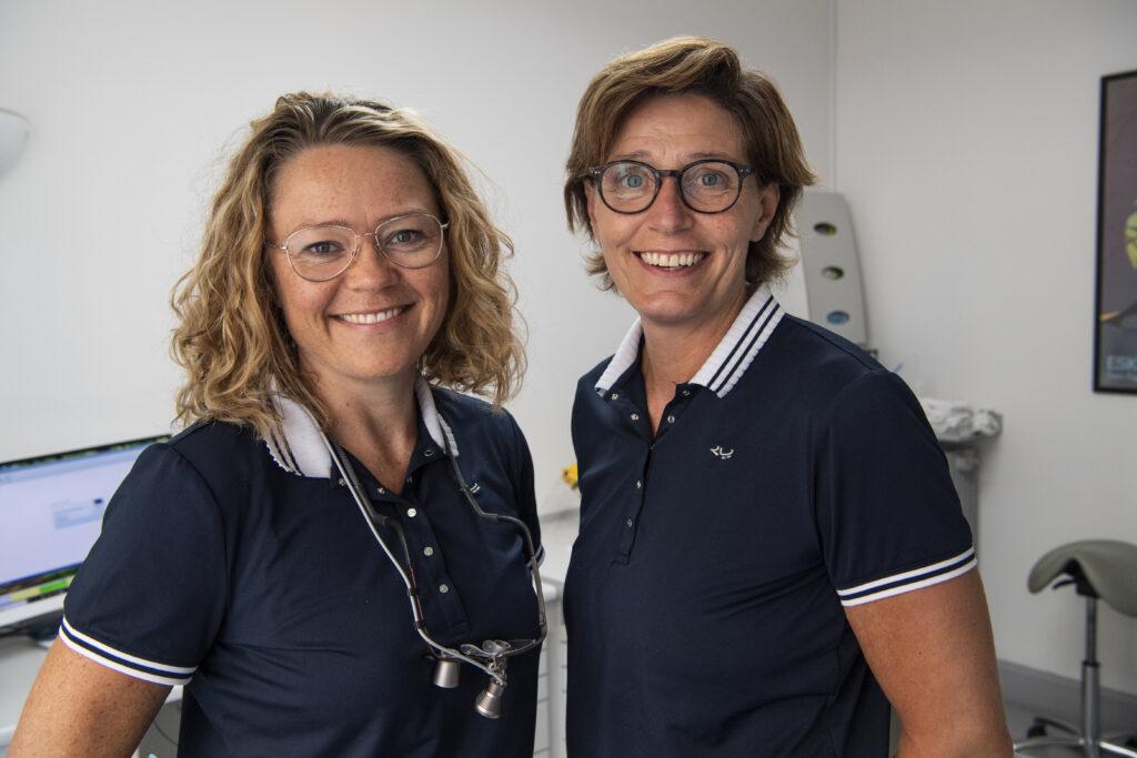 Tandlægerne Lene og Vibeke