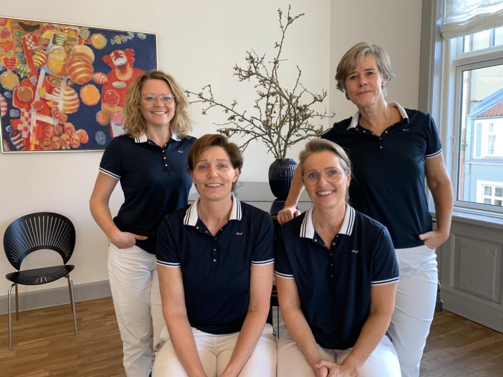 Vibeke Borch, Lene Vognsen, Charlotte Matzen og Hanne Vestergård